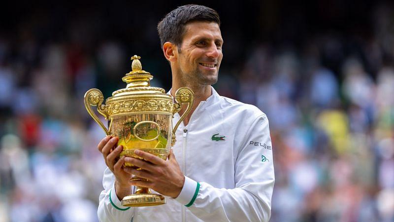 नोवाक जोकोविच Wimbledon 2021