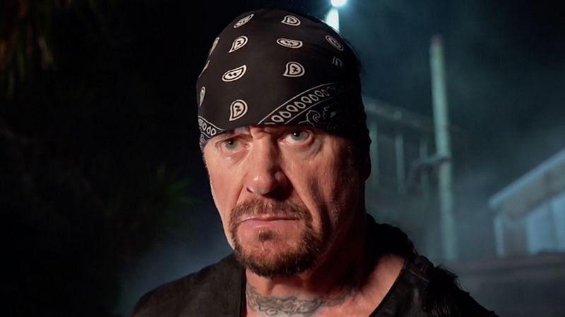 The Undertaker at WrestleMania 36