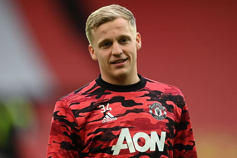 Donny van de Beek has not been given many chances at Manchester United