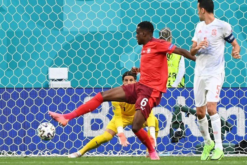 Denis Zakaria put one through his own net.