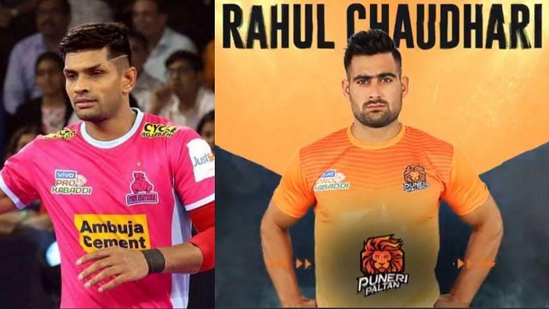 Deepak Niwas Hooda returned to his previous team, while Rahul Chaudhari is now part of Puneri Paltan