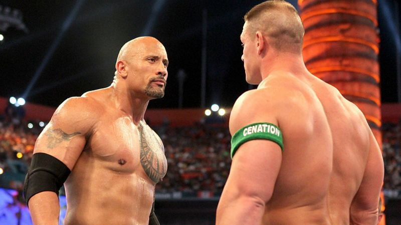 """John Cena vs The Rock was billed as """"Once in a Lifetime"""" at WWE WrestleMania XXVIII"""