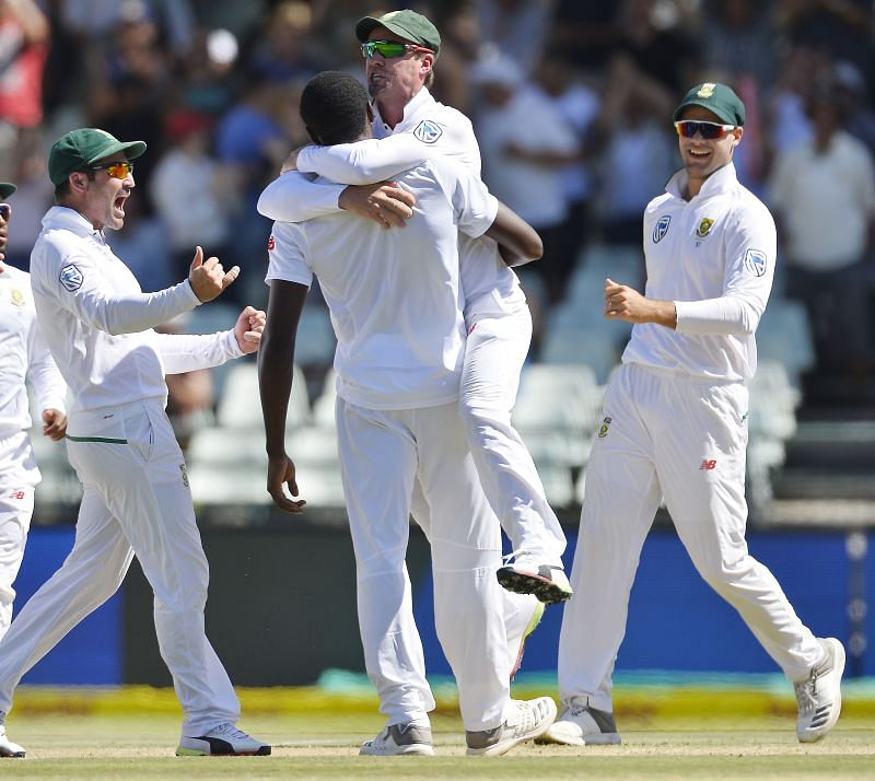 AB de Villiers and Kagiso Rabada