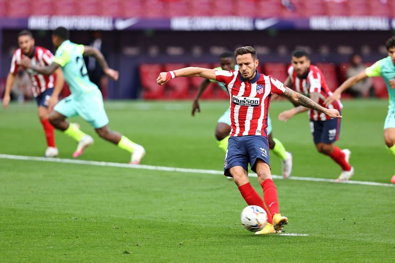 Chelsea push for deal for Saul Niguez.