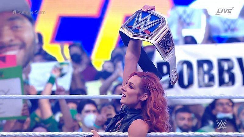 Becky Lynch SmackDown Women's Champion