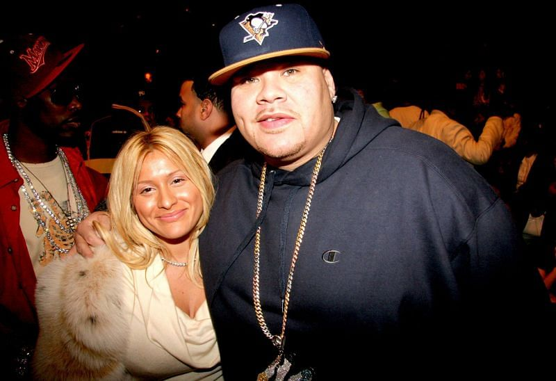 Fat Joe and his wife, Lorena Cartagena. (Image via Getty Images)