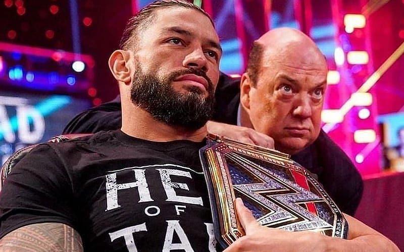 WWE यूनिवर्सल चैंपियन रोमन रेंस ने किया ट्वीट
