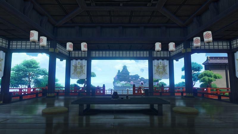 Genshin Impact Inazuma update adds a new Reputation System (image via miHoYo)