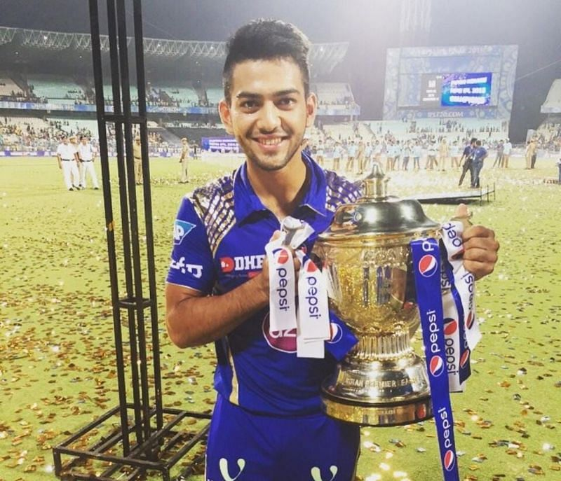 Unmukt Chand won the IPL with the Mumbai Indians in 2015 [Credits: Unmukt Chand]