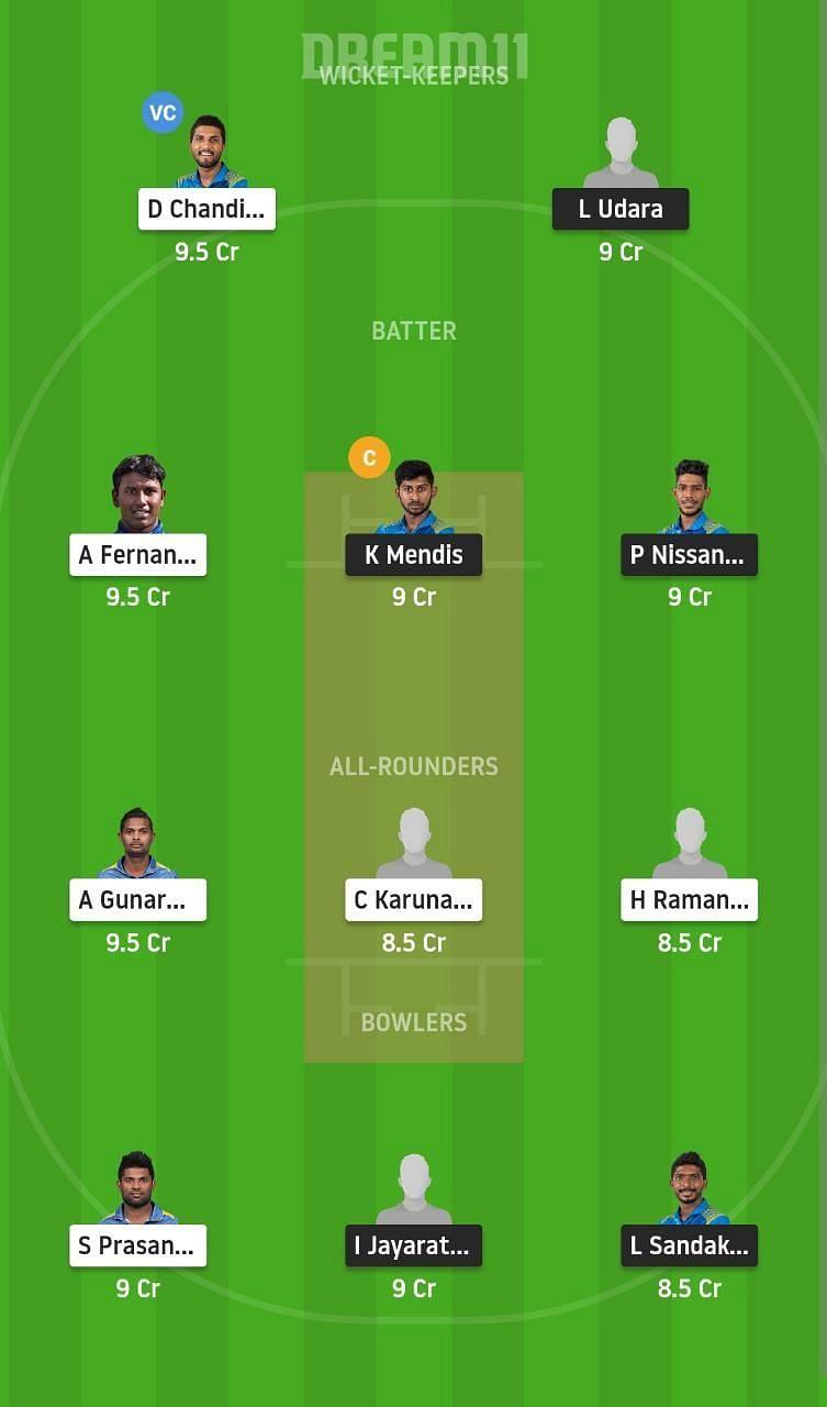 SLGR vs SLRE Dream11 Fantasy Suggestion #1 - Sri Lanka Invitational T20