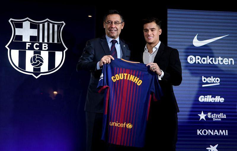 Coutinho came to La Liga with a heft price tag