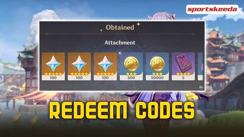 Genshin Impact released new redeem codes for the 2.1 update (image via Sportskeeda)