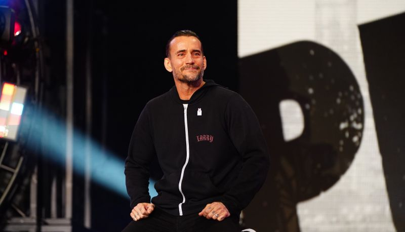 CM Punk made his AEW debut at Rampage: The First Dance