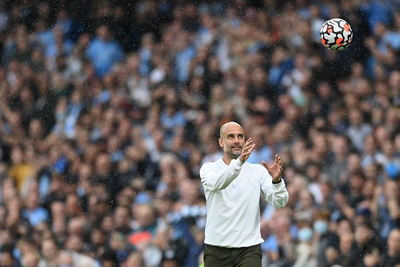 Pep Guardiola was pleased with Manchester City's performance