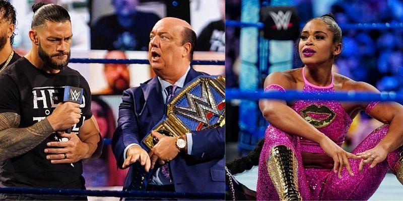 WWE SmackDown में रोमन रेंस और बियांका ब्लेयर चर्चा का विषय रहे