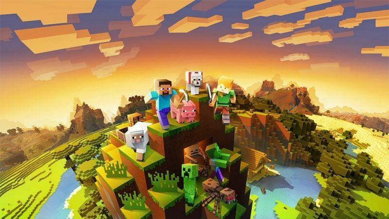 Official Minecraft poster (Image via Mojang)