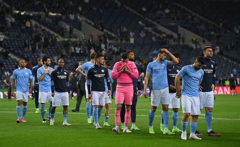 Manchester City lost to Chelsea in the 2020/21 Champions League final