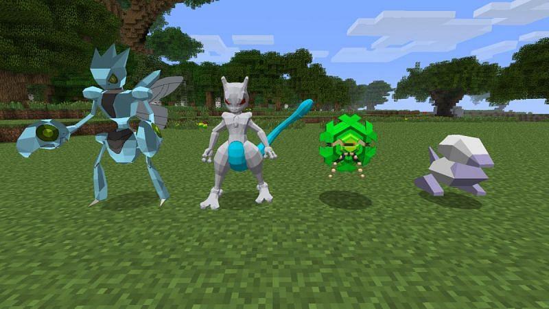Fans of the Pokémon franchise will love PokeSaga (Image via Mojang)