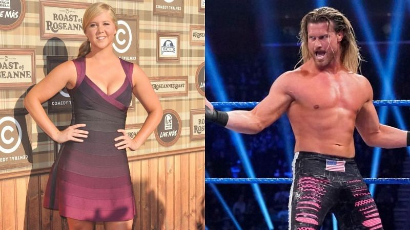 WWE Superstar Dolph Ziggler and Amy Schumer