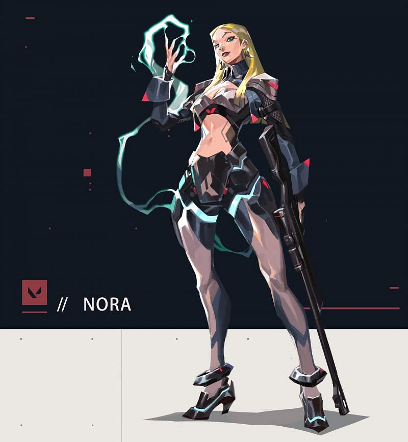 Nora is a member of Valorant