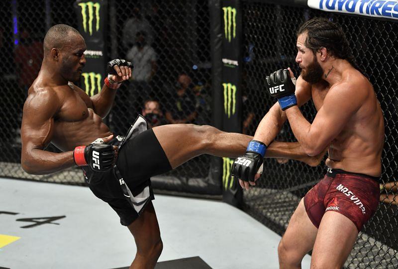 UFC 251 was headlined by a major grudge match between Kamaru Usman and Jorge Masvidal