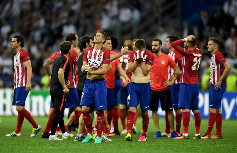 Atletico Madrid faced defeat at the hands of Real Madrid on both their final appearances