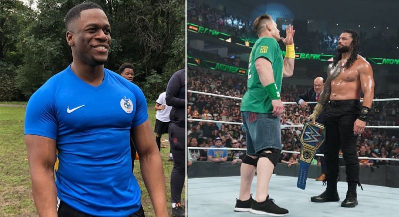 Brendan Cobbina; John Cena and Roman Reigns
