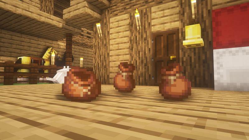 Pacchetti di gioco (immagine tramite Minecraft)