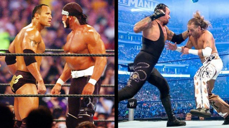Several WWE World Championship pay-per-view matches have been overshadowed by non-title matches in WWE history