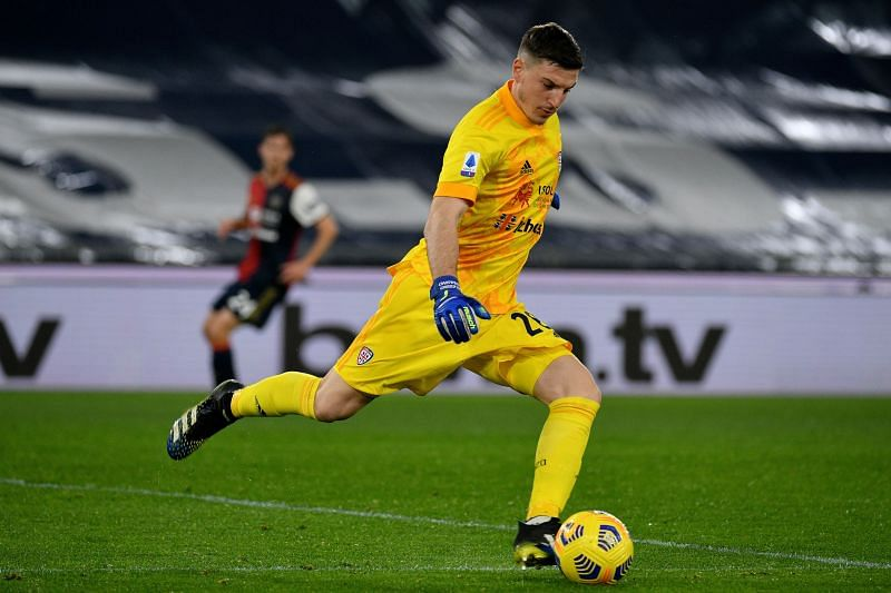 Alessio Cragno finished the 2019 Serie A season as the goalkeeper with the most saves (152)