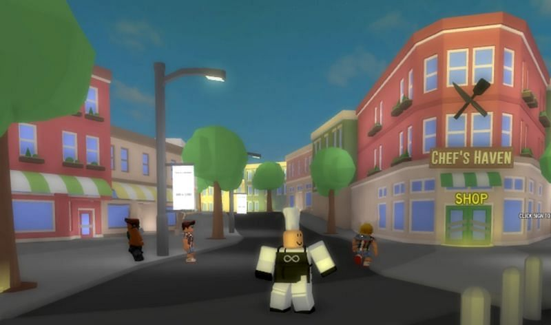 An in-game screenshot of Cooking Simulator (Image via Roblox Corporation)