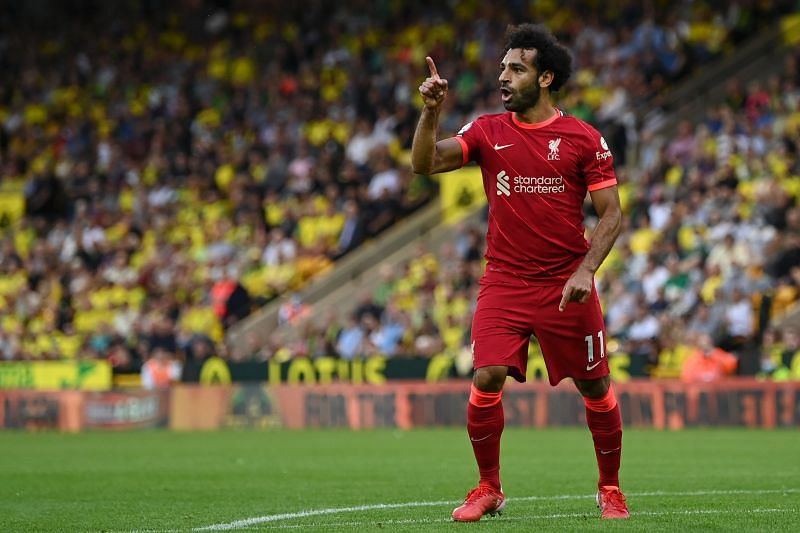 A sparkling display from the Egyptian attacker, who bagged a goal and two assists.