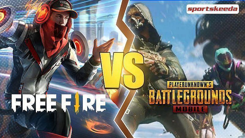 Free Fire é melhor do que PUBG Mobile aqui (Imagem via Sportskeeda)