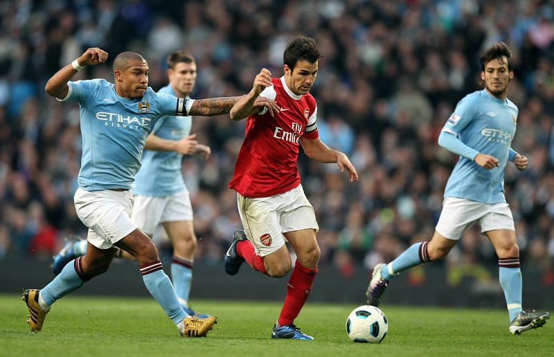 Fàbregas became the Arsenal captain at the age of 19