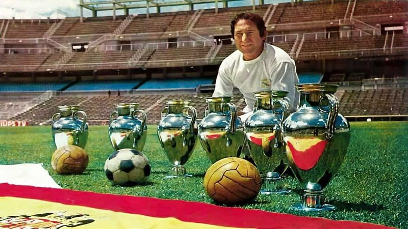 Paco Gento: Only player to win six European Cups