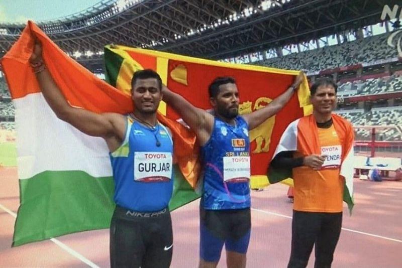 Tokyo Paralympics में भारत के देवेंद्र झाझरिया ने रजत और सुंदर सिंह गुर्जर ने कांस्य पदक जीता