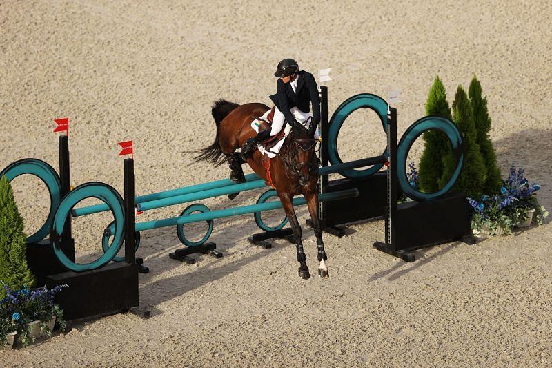 Equestrian - Olympics Fouaad Mirza