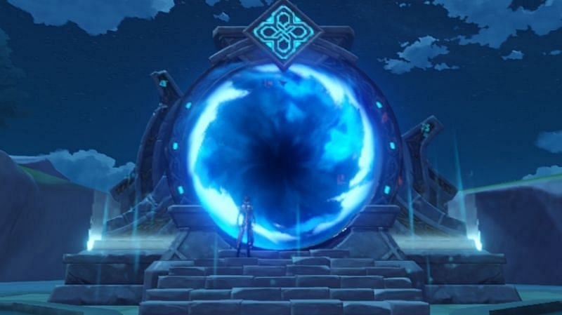 Jinshin Etkisinde Spiral Uçurum (Jinshin Etkisi ile Görüntü)
