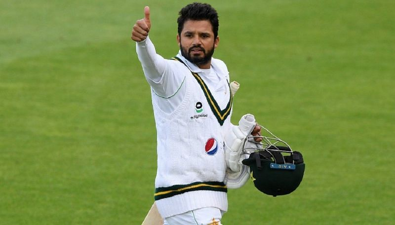 Pakistan batsman Azhar Ali made a fine century in the first innings of the Test.