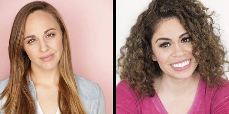 Kelly Baskin is on the left, Laura Stahl is on the right (Image via Sportskeeda)