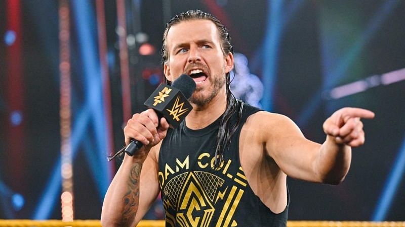 Adam Cole is done with his NXT contract