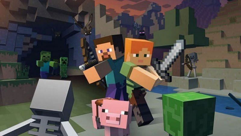 Minecraft can be played both over the internet and over local networks on Java Edition.  (Image via Mojang)