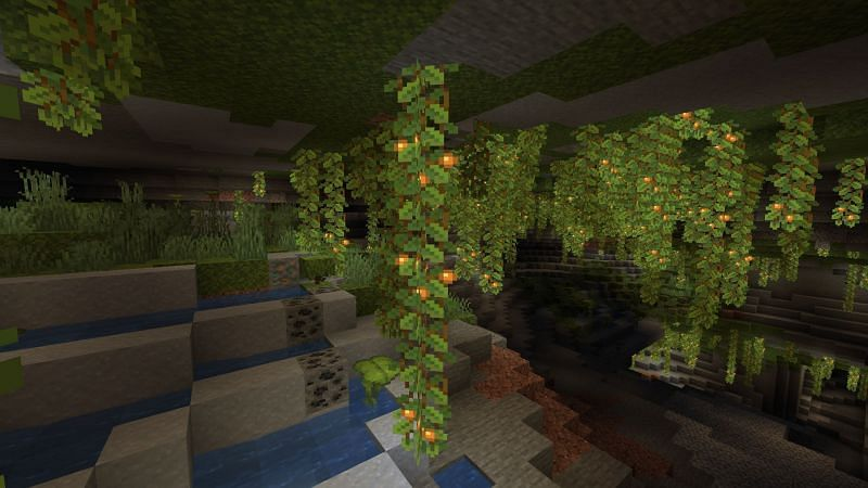 The 1.18 update is game-changing (Image via Minecraft)