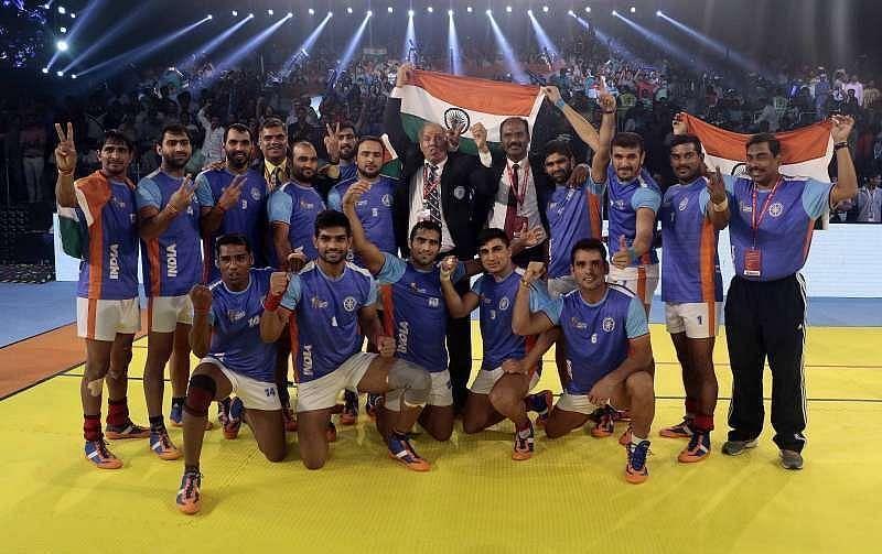 भारतीय कबड्डी टीम