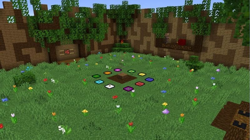 Village avenger realm map (Image via Mojang)