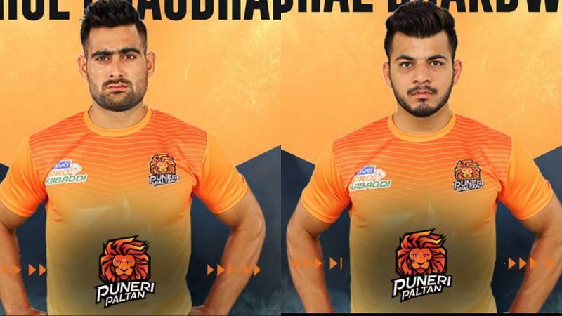 Puneri Paltan signed former Telugu Titans stars Rahul Chaudhari and Vishal Bhardwaj (Image Courtesy: Pro Kabaddi League)
