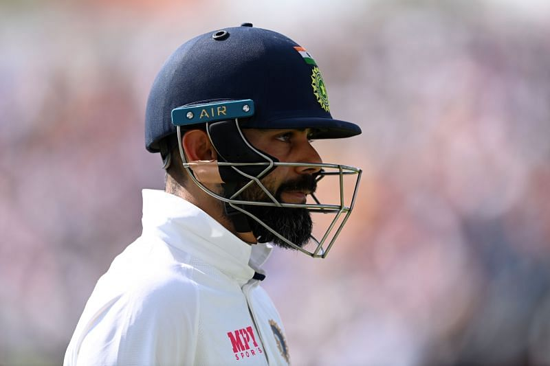 Virat Kohli disappointed after being dismissed for 55