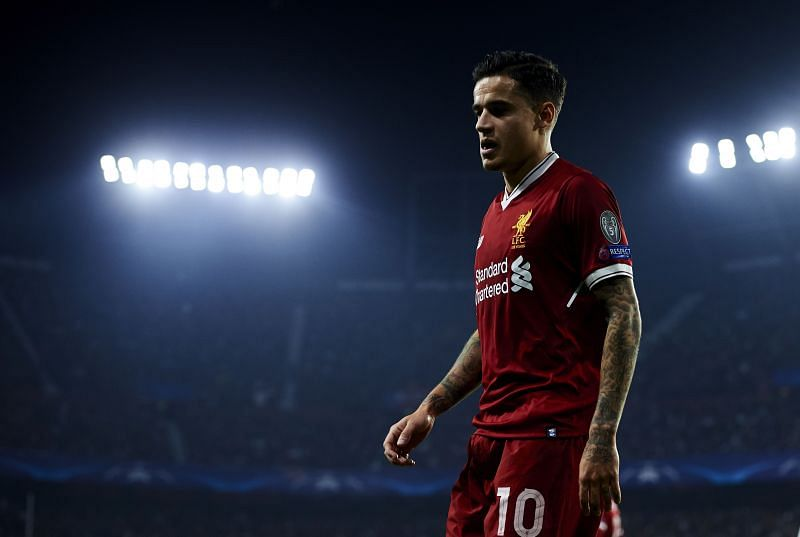 Philippe Coutinho left Liverpool on a bitter note