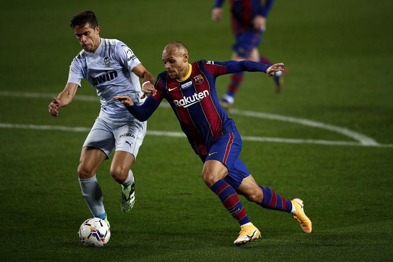 Martin Braithwaite in action for Barcelona