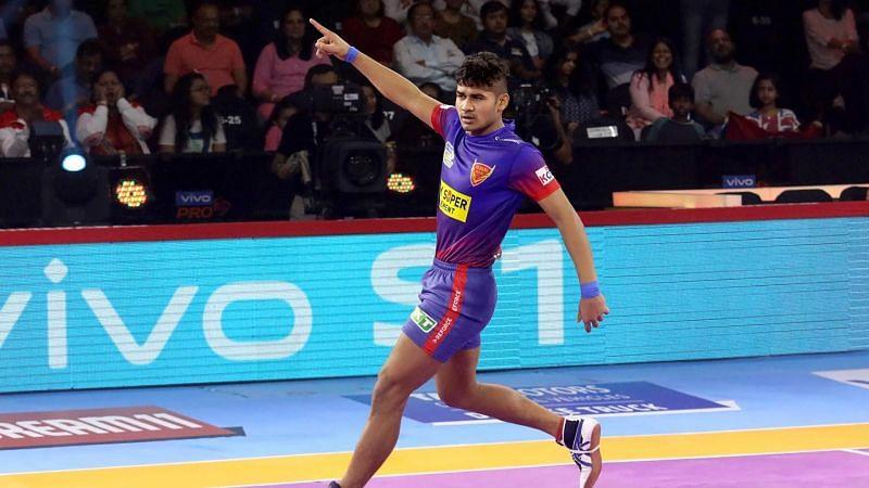 Dabang Delhi player Naveen Kumar (Image Courtesy: PKL)